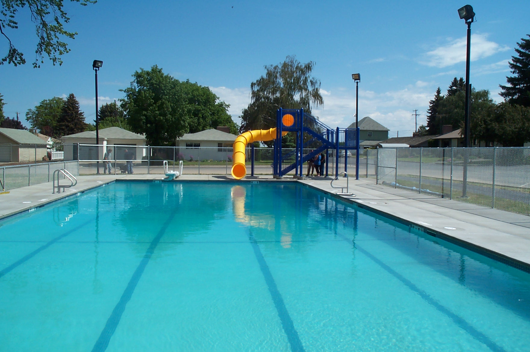 Pool world commercial pools in the spokane and coeur d for Garden city swimming pool